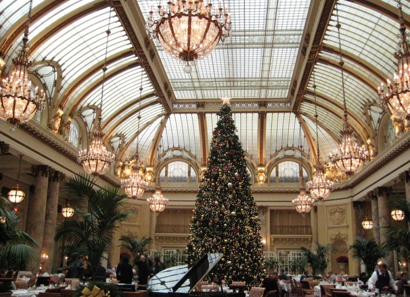 Photo Essay: Sparkling Hotel Lobbies Decked Out for Christmas