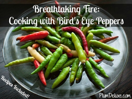 Breathtaking Fire Cooking With Bird S Eye Peppers