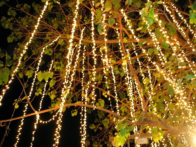 10 Non-Tacky Ways to Decorate with Christmas Lights Year Round