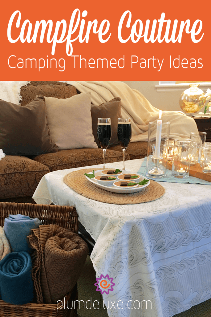 Campfire Couture: Outdoor-Themed Party Ideas