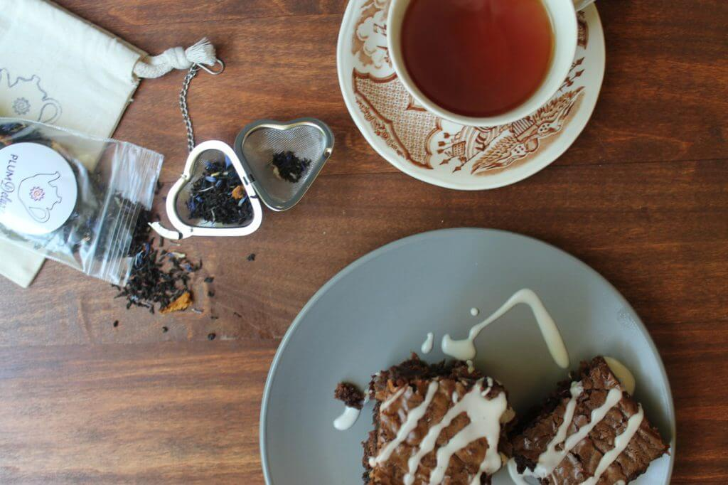 baking with tea