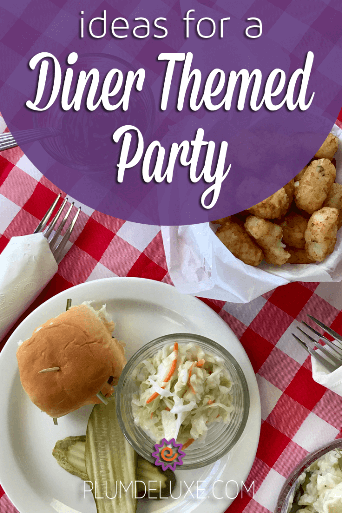 3 Ideas For A Diner Themed Party