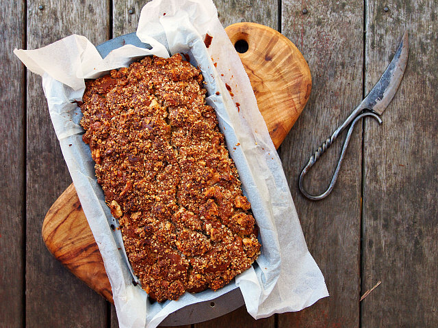 With the tender, buttery crumb of coffee cake paired with fragrant ginger and strong molasses, this Gingerbread Coffee Cake is a recipe made in heaven.