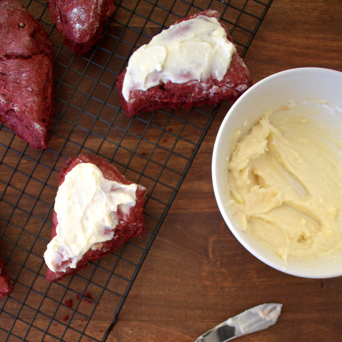 These decadent red velvet scones are the perfect thing to remind you to slow down and take a break.